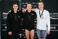 AON Swimming New Zealand National Open Swimming Championships, National Aquatic Centre, Auckland, New Zealand, Friday 6 July 2018. Photo: Simon Watts/www.bwmedia.co.nz