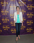 Marin Mazzie during 'The King and I' new cast meet & greet held at the Lincoln Center theater studio on April 20, 2016 in New York City.