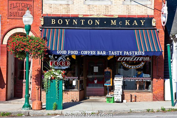 Boynton McKay Restaurant, Camden, Maine