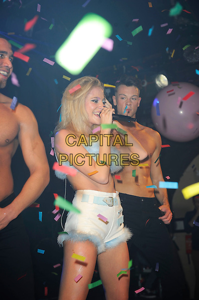LONDON, ENGLAND - March 8: Pixie Lott (Victoria Louise Lott) performs at G-A-Y, Heaven Nightclub on March 8, 2014 in London, England<br /> CAP/MAR<br /> &copy; Martin Harris/Capital Pictures