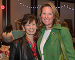 Maggie Browder and Eliza Gilsdorf during the Junior League Poinsettia Luncheon at the Atlantis Casino Resort Spa in Reno, Thursday, Dec. 7, 2017.