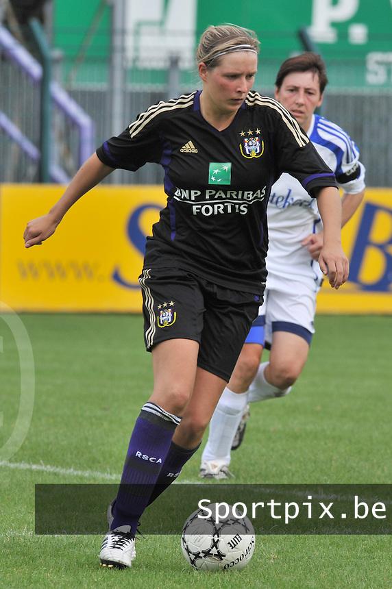 Rassing Harelbeke - RSC Anderlecht : Sophie Mannaert.fotografe Joke Vuylsteke - vrouwenteam.be