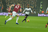 Jean Michaël Seri of Fulham during West Ham United vs Fulham, Premier League Football at The London Stadium on 22nd February 2019