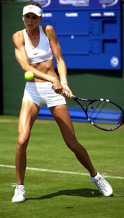 Photo: Richard Lane..Hastings Direct International Championship 2003..16/06/2003..Daniela Hantuchova