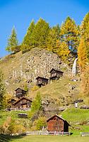 Oesterreich, Kaernten, Moelltal, Apriach: Apriacher Stockmuehlen | Austria, Carinthia, Valley Moelltal, Apriach: Apriacher Stockmuehlen (mills)