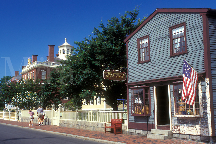 Salem, Massachusetts, The West India Goods Store near the Salem NationalHistoric Site.