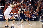 CHARLOTTESVILLE, VA - MARCH 03: Notre Dame's Matt Farrell. The University of Virginia Cavaliers hosted the University of Notre Dame Fighting Irish on March 3, 2018 at John Paul Jones Arena in Charlottesville, VA in a Division I men's college basketball game. Virginia won the game 62-57.