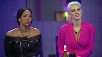 Malika Haqq, Ashley James<br /> Celebrity Big Brother 2018 - Day 7<br /> *Editorial Use Only*<br /> CAP/KFS<br /> Image supplied by Capital Pictures