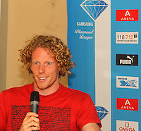 PSamsung Diamond League, Paris. (Press Conf.) July 15, 2010