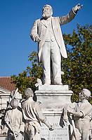 Europe/France/Midi-Pyrénées/81/Tarn/Carmaux: Statue de Jean Jaurés