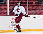 Jesper Mattila (BC - 8) - The Boston College Eagles practiced on the rink at Fenway Park on Friday, January 6, 2017.
