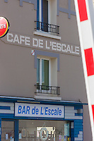 Europe/France/Normandie/Basse-Normandie/50/Manche/Cherbourg: Café de l'Esacale prés du port //   France, Manche, Cotentin, Cherbourg, Café de l'Esacale near the harbour