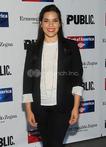 New York, NY- August 5:  America Ferrera attends the Public Theater's Opening Night of King Lear on August 5, 2014 at the Delacorte Theater in Central Park in New York City. . Credit: John Palmer/MediaPunch