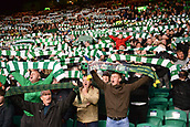 12th September 2017, Glasgow, Scotland; Champions League football, Glasgow Celtic versus Paris Saint Germain;  Celtic massed SUPPORTERS