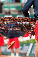 30-05-13, Tennis, France, Paris, Roland Garros, Sweepingnet,