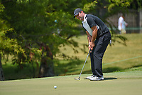Patrick Reed (USA) barely misses his putt on 9 during round 3 of the WGC FedEx St. Jude Invitational, TPC Southwind, Memphis, Tennessee, USA. 7/27/2019.<br /> Picture Ken Murray / Golffile.ie<br /> <br /> All photo usage must carry mandatory copyright credit (© Golffile | Ken Murray)