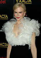 04 January 2019 - Los Angeles, California - Nicole Kidman. 8th AACTA International Awards hosted by the Australian Academy held at SKYBAR at Mondrian Los Angeles.        <br /> CAP/ADM<br /> ©ADM/Capital Pictures