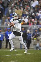 27 November 2010:  Michigan State QB Kirk Cousins (8)..The Michigan State Spartans defeated the Penn State Nittany Lions 28-22 to win the Land Grant Trophy at Beaver Stadium in State College, PA.