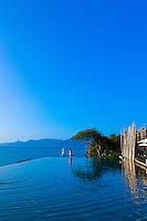 Infinity Pool, Six Senses Hideaway (resort hotel), Koh Samui (island), Gulf of Thailand, Thailand