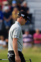 Zach Johnson (USA) on the 14th green during Thursday's Round 1 of the 145th Open Championship held at Royal Troon Golf Club, Troon, Ayreshire, Scotland. 14th July 2016.<br /> Picture: Eoin Clarke | Golffile<br /> <br /> <br /> All photos usage must carry mandatory copyright credit (&copy; Golffile | Eoin Clarke)