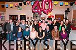 40th Birthday : Cecelia Flavin, Rusheen, Ballylongford celebrating her 40th birthday with family & friends at O'Connor;s Bar, Ballylongford on Saturday night last.