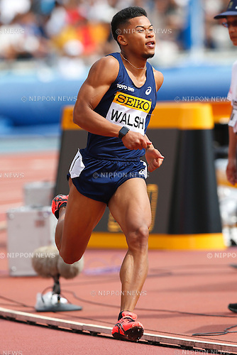 Walsh Julian, <br /> MAY 8, 2016 - Athletics : IAAF World Challenge Seiko Golden Grand Prix in Kawasaki <br /> Men's 400m <br /> at Todoroki Stadium, Kanagawa, Japan. <br /> (Photo by Sho Tamura/AFLO SPORT)