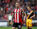 Billy Sharp of Sheffield Utd during the English League One match at Bramall Lane Stadium, Sheffield. Picture date: April 17th 2017. Pic credit should read: Simon Bellis/Sportimage
