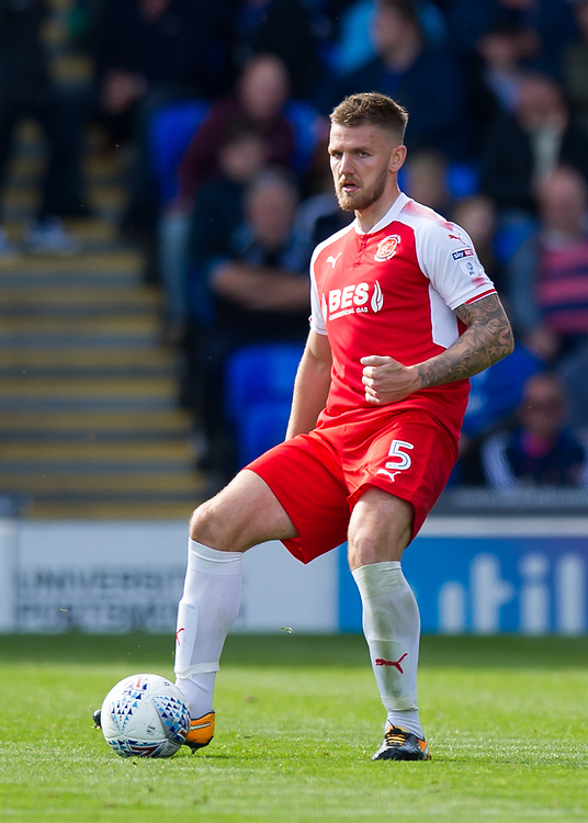 Fleetwood Town's Ashley Eastham<br /> <br /> Photographer Ashley Western/CameraSport<br /> <br /> The EFL Sky Bet League One - Portsmouth v Fleetwood Town - Saturday 16th September 2017 - Fratton Park - Portsmouth<br /> <br /> World Copyright &not;&copy; 2017 CameraSport. All rights reserved. 43 Linden Ave. Countesthorpe. Leicester. England. LE8 5PG - Tel: +44 (0) 116 277 4147 - admin@camerasport.com - www.camerasport.com