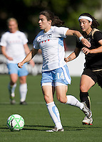 07 June 2009:  Karen Carney of the Red Stars in action during the game against the FC Gold Pride at Buck Shaw Stadium in Santa Clara, California.   FC Gold Pride tied Chicago Red Stars, 1-1.