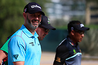 Paul Waring (ENG) on the 3rd during Round 3 of the Omega Dubai Desert Classic, Emirates Golf Club, Dubai,  United Arab Emirates. 26/01/2019<br /> Picture: Golffile | Thos Caffrey<br /> <br /> <br /> All photo usage must carry mandatory copyright credit (© Golffile | Thos Caffrey)