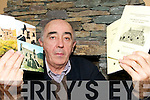 INFORMATION SHARING: Tomas OhArgain from Waterville with his book The Signal Stations of Co. Kerry.