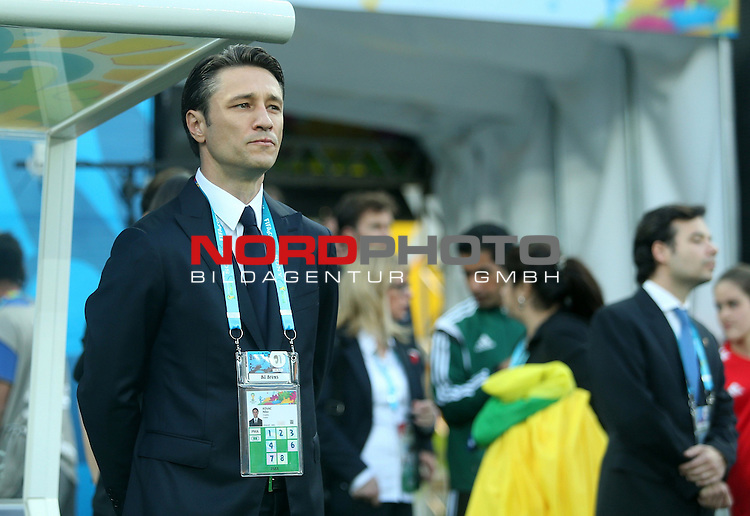 2014 Fifa World Cup opening game from group A against Brazil and Croatia.<br /> Croatian coach Niko Kovac<br /> <br /> Foto &copy;  nph / PIXSELL / Sajin Strukic