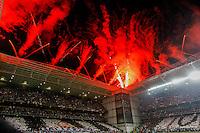 BELO HORIZONTE, MG, 30 MAIO 2013 - LIBERTADORES - ATLÉTICO MG X TIJUANA (MEX) - Torcida do Atlético Mineiro durante partida contra o Tijuana (México), jogo valido pela partida de volta das quartas de final da Taça Libertadores da América no estádio Independencia em Belo Horizonte, na noite desta quinta-feira, 30. (FOTO: NEREU JR / BRAZIL PHOTO PRESS).