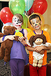 Sandra Murtagh and Oscar Tobin at the Teddy Bears Picnic in the Westcourt Hotel...Picture Jenny Matthews/Newsfile.ie