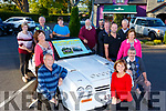 Attending the launching the Ballymac Vintage Rally in O&rsquo;Riada&rsquo;s Bar Ballymac on Monday evening.<br /> Kneeling l-r, George and Joan Glover, Joan Flemming, Tom Blennerhassett, <br /> Standing l to r: Marion Barnes (Recovery Haven), Maureen O&rsquo;Brien (Recovery Haven), Paul Horan, Mary Lynch, Chris Robbins, Colm Clifford, Noel Keane, John Reidy, James Conway and Maureen O&rsquo;Brien (Recovery Haven)