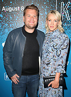 07 August 2017 - West Hollywood, California - James Corden, Julia Carey. 'Carpool Karaoke: The Series' On Apple Music Launch Party held at Chateau Marmont. <br /> CAP/ADM/FS<br /> &copy;FS/ADM/Capital Pictures