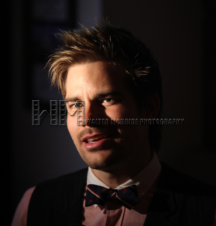 Matt Shingledecker.attending the Off-Broadway Opening Night After Party for 'RENT' at Glass House Tavern in New York City....