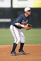 Chris Shehan (13) of the Danville Braves on defense at Dan Daniels Park in Danville, VA, Sunday July 27, 2008.
