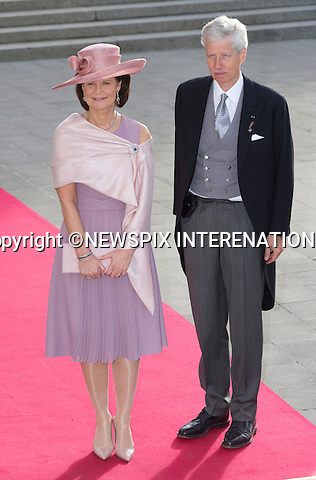 "Wedding of HRH the Hereditary Grand Duke and Countess Stéphanie de Lannoy.Religious Ceremony at Cathedral of Our lady of Luxembourg, Luxembourg_20-10-2012.Mandatory credit photo: ©Dias/NEWSPIX INTERNATIONAL..(Failure to credit will incur a surcharge of 100% of reproduction fees)..                **ALL FEES PAYABLE TO: ""NEWSPIX INTERNATIONAL""**..IMMEDIATE CONFIRMATION OF USAGE REQUIRED:.Newspix International, 31 Chinnery Hill, Bishop's Stortford, ENGLAND CM23 3PS.Tel:+441279 324672  ; Fax: +441279656877.Mobile:  07775681153.e-mail: info@newspixinternational.co.uk"
