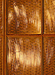Industry windows reflecting the morning sun light located in the Presido, San Francisco, California,