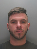 Pictured: Undated custody picture of Daniel Lee Taylor<br />