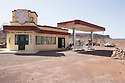 Morocco - Located 20 kilometers out of Ouarzazate on the road to Agadir, this prop gas station was used in The Hills Have Eyes, a 2006 American horror movie recounting the ordeals of a family being attacked by a group of nuclear-contaminated mutants. Although set in the New Mexico desert, the movie was entirely shot in Morocco.