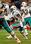 7 December 2008: Miami Dolphins' running back Ronnie Brown in action against the Buffalo Bills during the first regular season NFL game ever to be played in Canada. The Dolphins defeated the Bills 16-3 at the Rogers Centre in Toronto, Ontario. ..Mandatory Photo Credit: Ed Wolfstein Photo