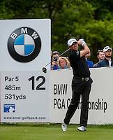 23.05.2015. Wentworth, England. BMW PGA Golf Championship. Round 3.  Graeme Storm [ENG] 12th tee, during the final round of the 2015 BMW PGA Championship from The West Course Wentworth Golf Club