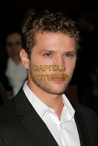 "RYAN PHILLIPPE .Attends the screening of ""Franklyn"" at The Times BFI London Film Festival at Odeon West End, London, England, October 16, 2008..portrait headshot stubble white shirt collar .CAP/AH.©Adam Houghton/Capital Pictures"