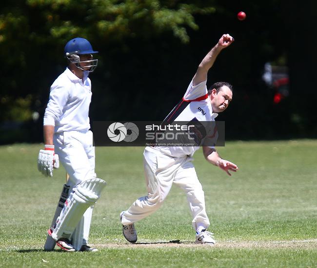 Premier Cricket,ACOB v Stoke - Nayland, Botanics , Nelson New Zealand, 8th November 201 ,Evan Barnes / Shuttersport.