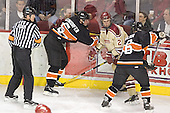 Patrick Neundorfer, Zach Blom, Brett Wilson - The Princeton University Tigers defeated the University of Denver Pioneers 4-1 in their first game of the Denver Cup on Friday, December 30, 2005 at Magness Arena in Denver, CO.