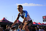 AG2R La Mondiale at the Team Presentation in Alghero, Sardinia for the 100th edition of the Giro d'Italia 2017, Sardinia, Italy. 4th May 2017.<br /> Picture: Eoin Clarke | Cyclefile<br /> <br /> <br /> All photos usage must carry mandatory copyright credit (&copy; Cyclefile | Eoin Clarke)