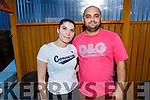 Petra Herakoea and Joseph Bendig enjoying the evening in Ristorante Uno on Thursday..