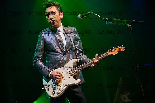 TOMOYASU HOTEI - Japanese singer, songwriter, composer, record producer and actor - performing live at The Roundhouse in London UK - 18 Dec 2012.  Photo credit: Jeff Barclay/Music Pics/IconicPix